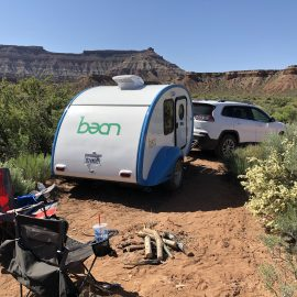Teardrop Trailer Adventures in Utah