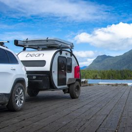 Utah's Lightweight Teardrop Trailer is Built like a Boat!