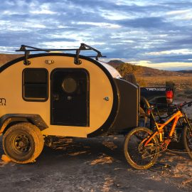 Escape the Weather with a Bean Trailer