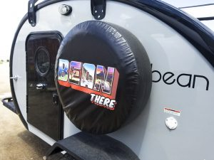 """A spare tire that begs the question: """"where are you headed next?"""""""
