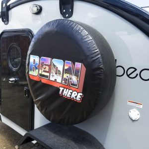 "A spare tire that begs the question: ""where are you headed next?"""