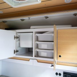 Storage Space for storage of food, clothing and other essentials.